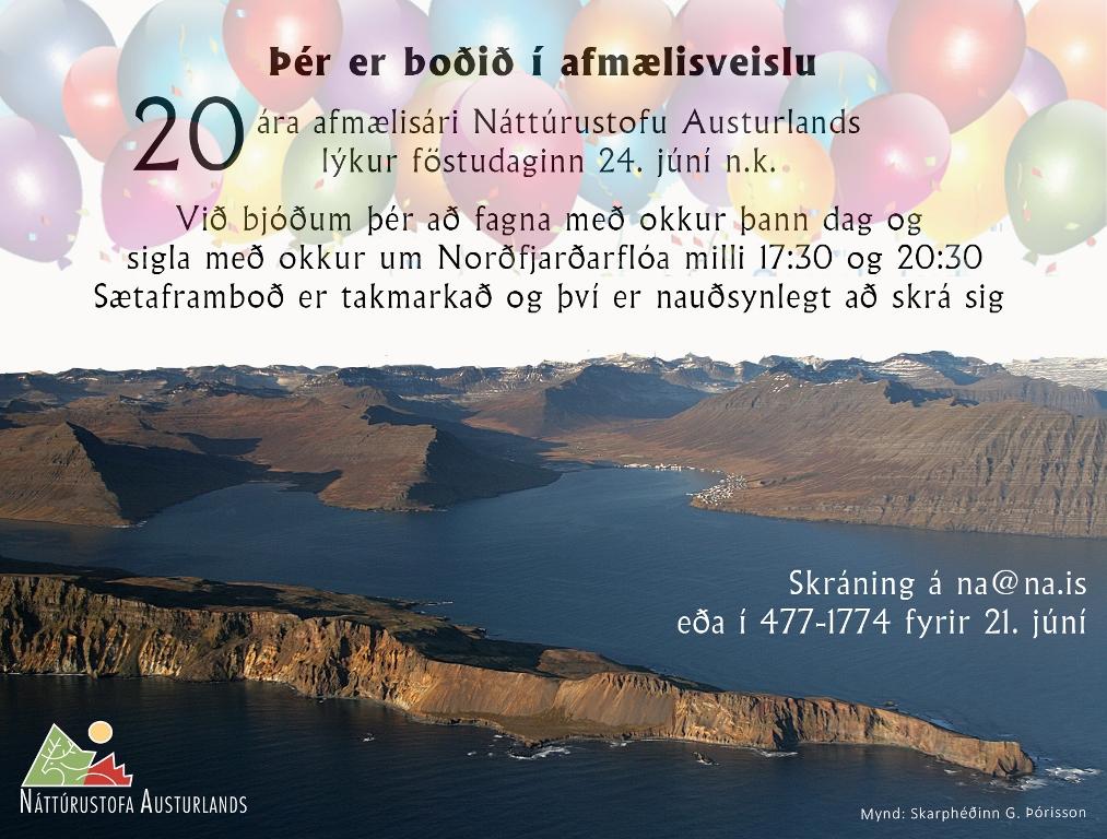 Þér er boðið til afmælisveislu.